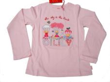 Tipsy T-Shirt L/S Sky is the Limit Light pink