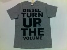 Tonycy T-Shirt Grey (Turn Up) Youth