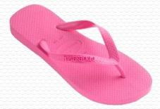 TOP Shocking Pink Havaianas Kids