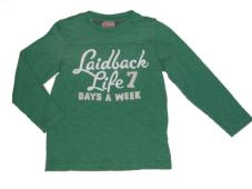 T-Shirt Green Laidback 50505-60