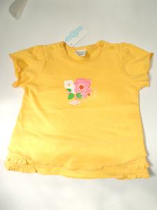 T-Shirt S/S Soft Yellow Cotton 16500292