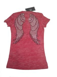 T-Shirt Wings Hot Pink