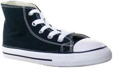 Youth Chuck Taylor All Star Hi Black
