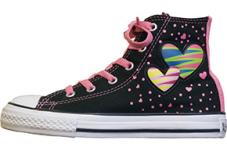Youth Chuck Taylor Special Hi Black/Bubblegum