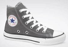 Youth Chuck TaylorT All Star Spec Hi Charcoal