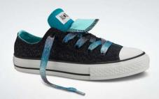 Youth CT Dbl Tng Ox Blk/Blue